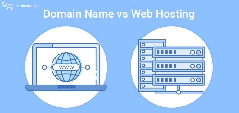 Domain name Vs Web Hosting Services